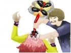 Muderface Chokes Dr. Roscoe :P