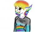 Rainbow wink