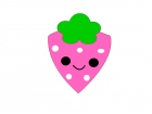 weird kawaii strawberry