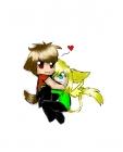Cute Chibi couple