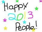 Happy 2013 ppl