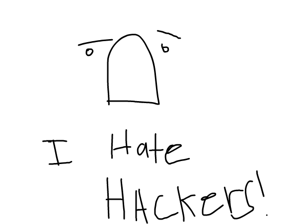 I Hate Hackers!