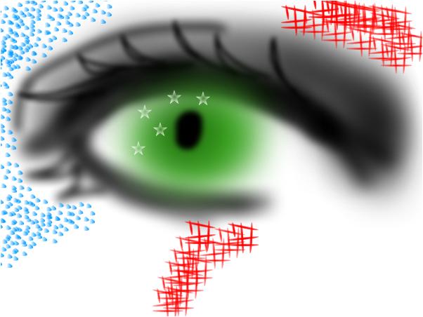 An weirrrd eye