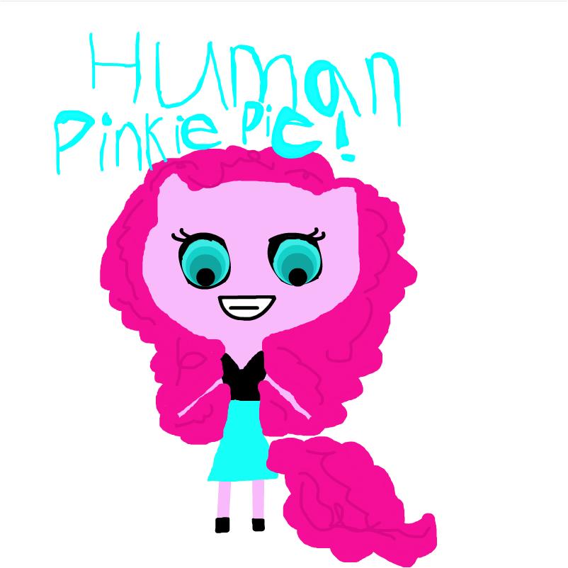HUMAN PINKI PIE