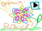 Draw a flower: Guide