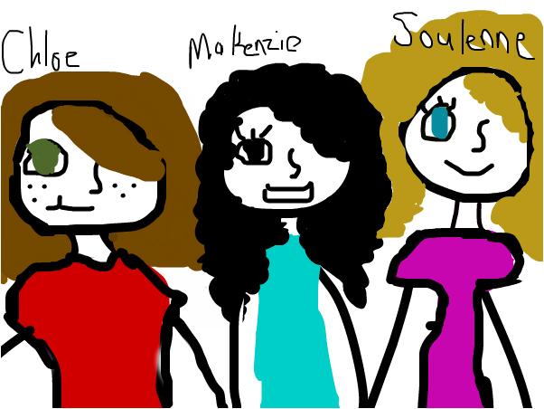 makenzie and friends
