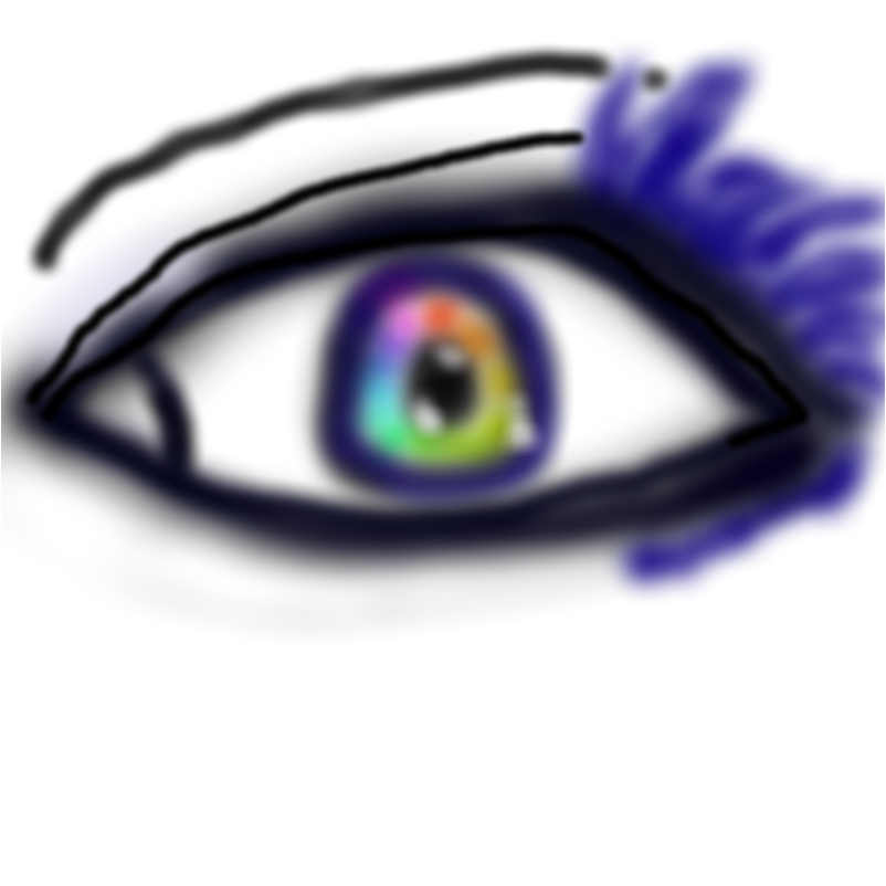 Rainbow (I got eyes mania)