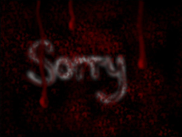 If sorry wasn't enough