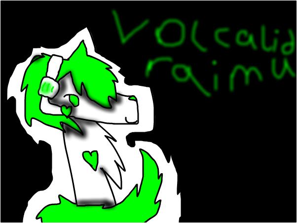 Volcalid Raimu fanart
