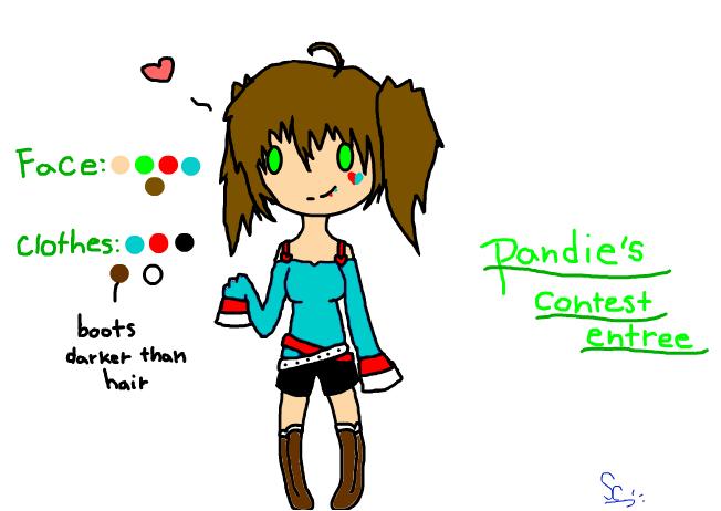 Pandie's contest entree