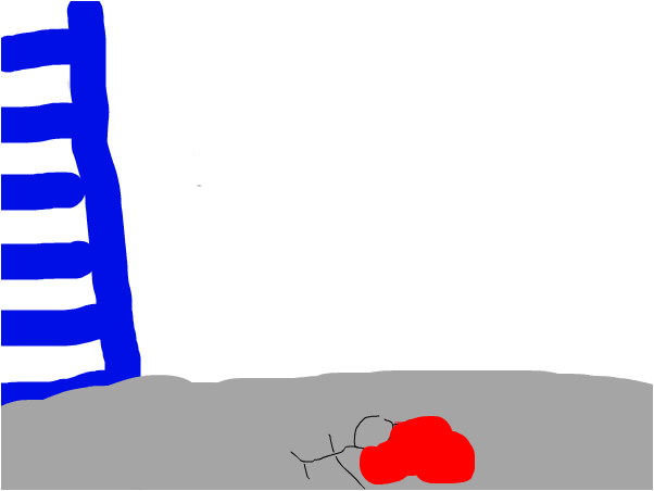 a man falls off a tower and dies