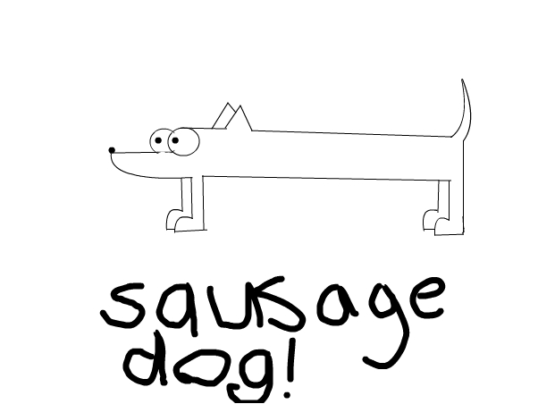 sausage dog!