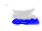 tornado in water
