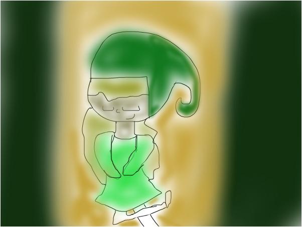 St. Patrick Day Girl