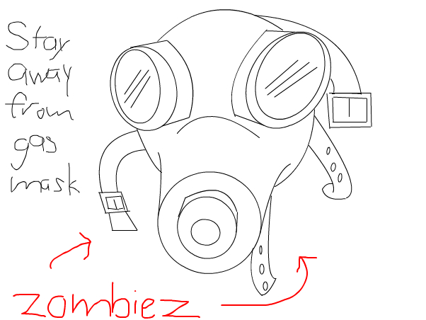 The Empty Child's Gas Mask