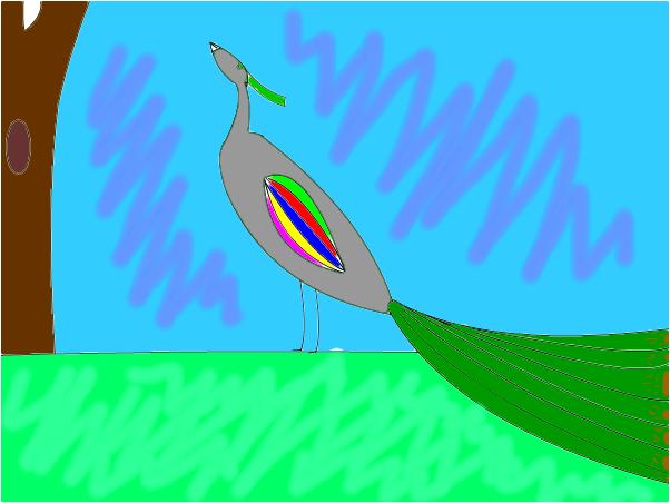 Paulin-bird