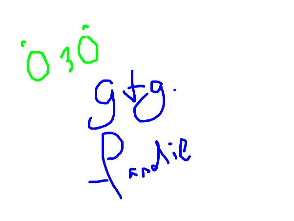 o3o gtg soon~ -pandie