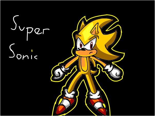super sonic:speed paint