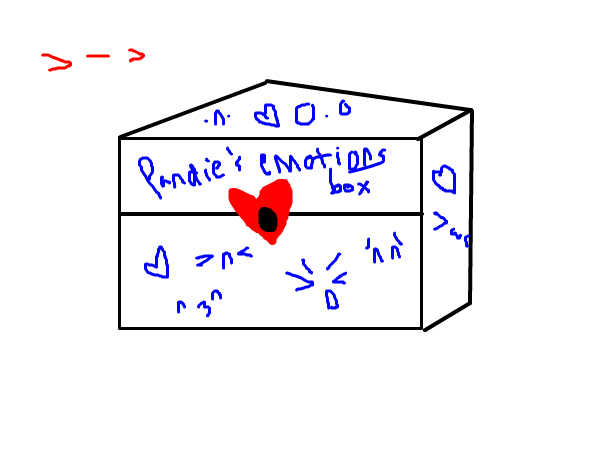 """>-> *puts all emotions into box and locks* X""""D"""