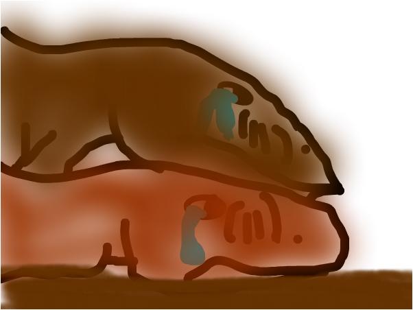t-rex lost tear
