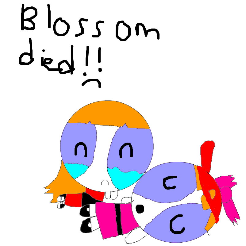 blossom died :(
