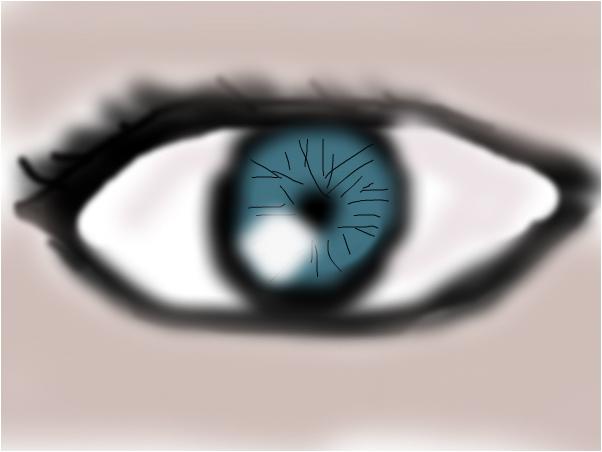blury eye