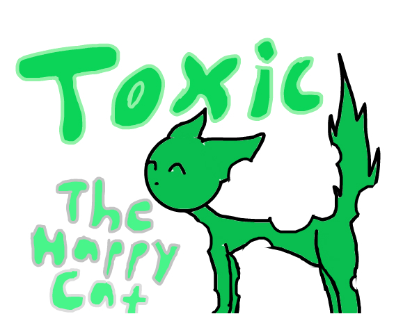 TOXIC THE KITTY CAT