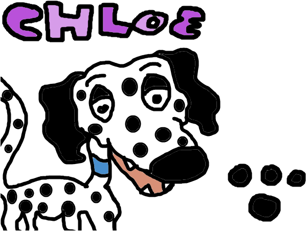 Chloe the Dalmation