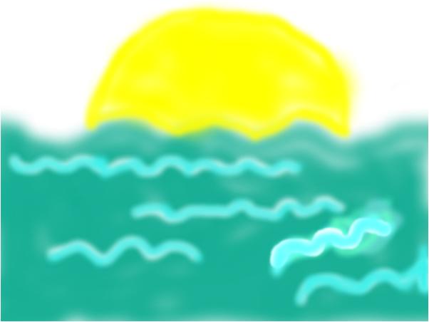 el calido sol