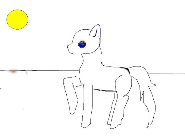 first pony digital pic