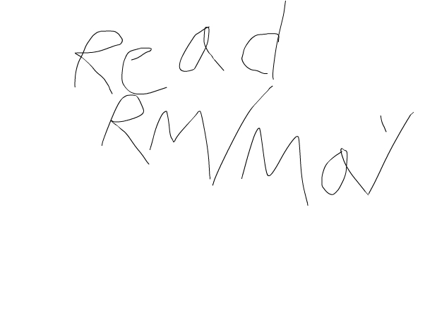 reAD rm/May