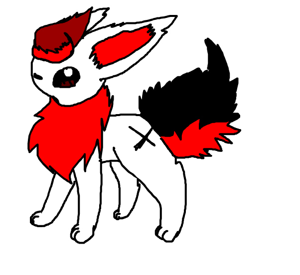 Staying as a Flareon for Today~!