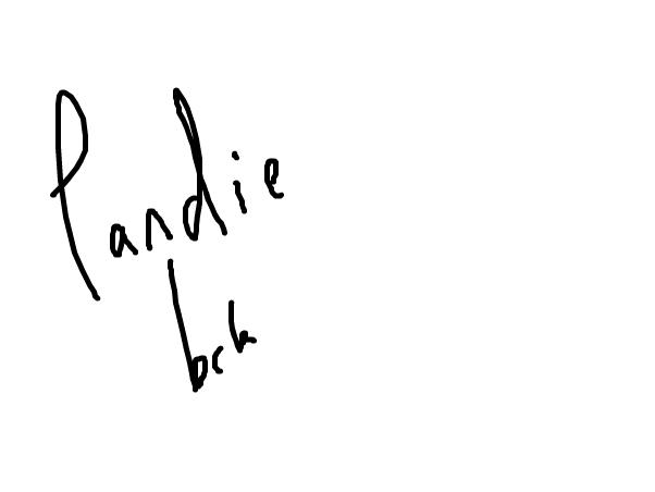 pandie back on again..