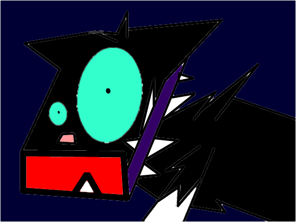scourge terrfied (you dont see this alot