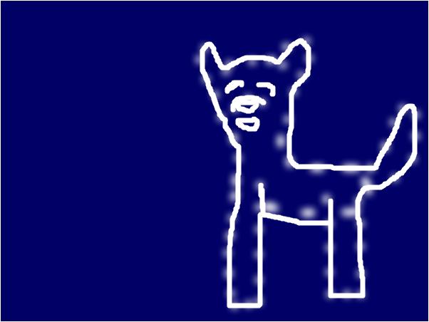 Wolf in the sky P.S. Dancestar what do u think