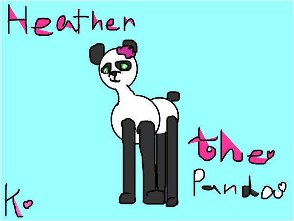 Heather The Panda~Kailani
