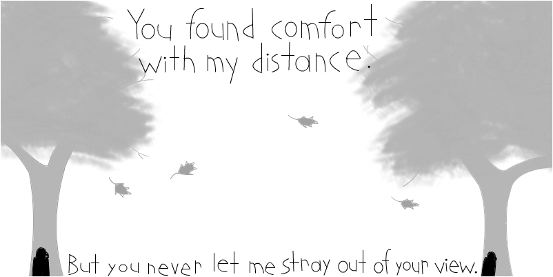 Comfort With My Distance