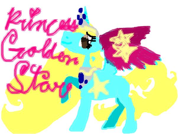 princess golden star