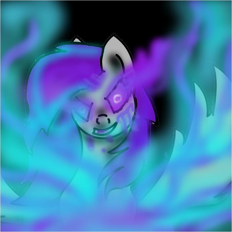 transformers prime megatron as a girl pony