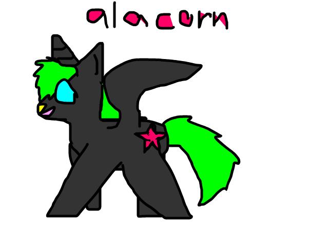 Nicole as an Alacorn~Kailani