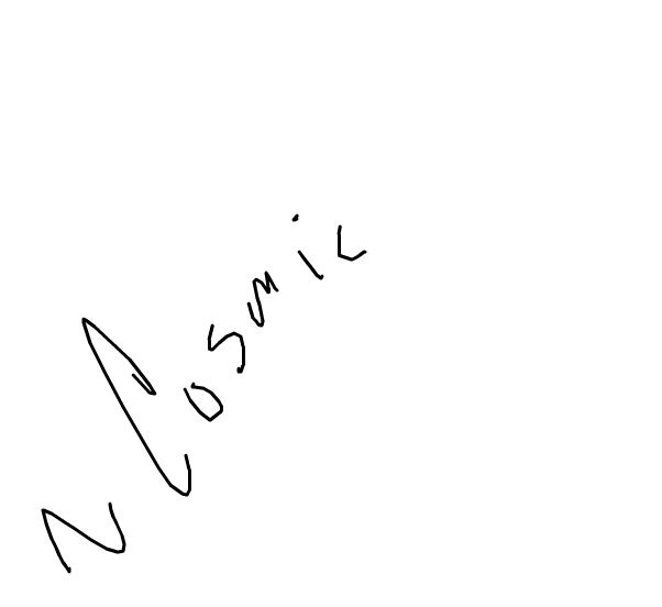 IM BAK~! ~Cosmic