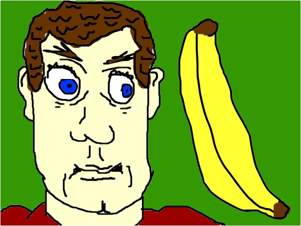 Guy and Banana