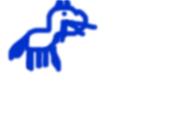 Random blue cat ( ART WILL GET BETTER X3 )