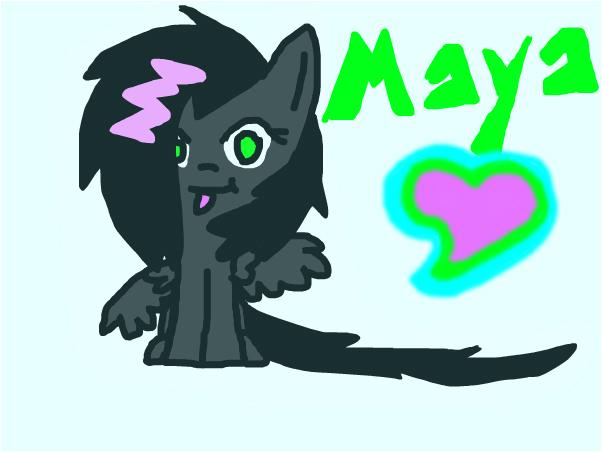 MayaNightShock FanArt ~ SlinkyBanana