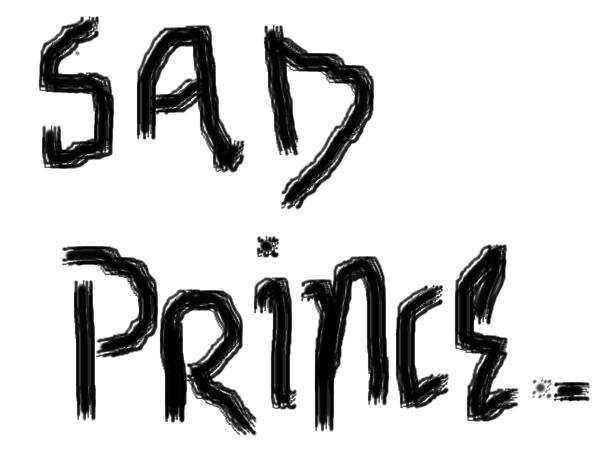 sad prince