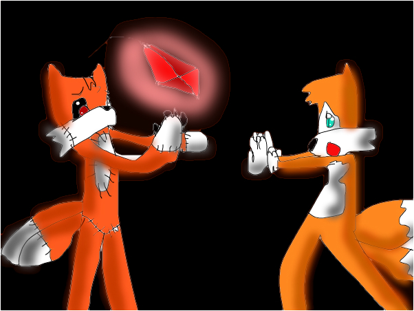 tails doll and tails doll