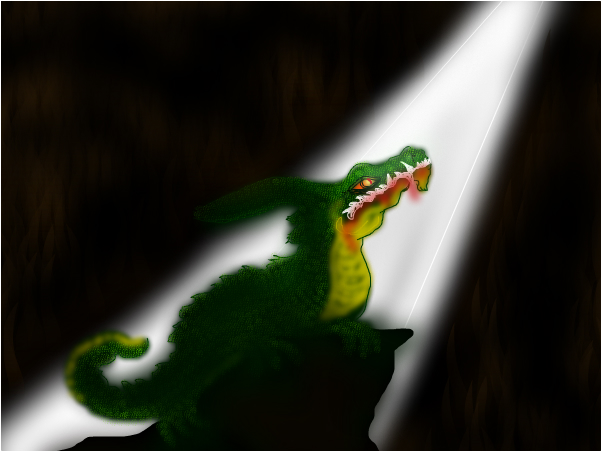 even a dragon sees the light