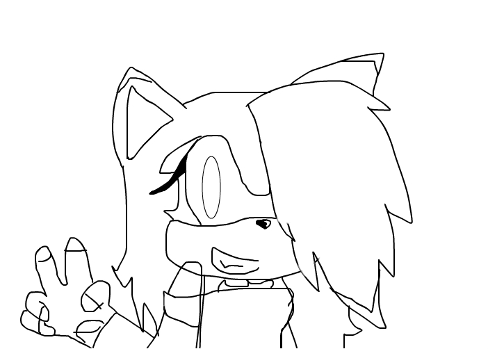 leon the hedgehog in the girl version