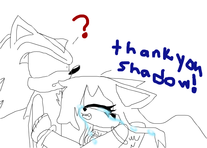 thank you shadow