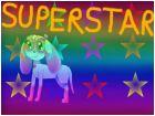The lovely dog's superstar